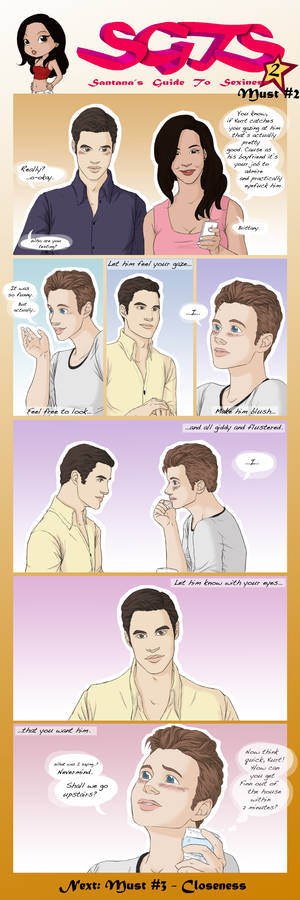 Klaine SGTS 2 - Must 2: Gazing