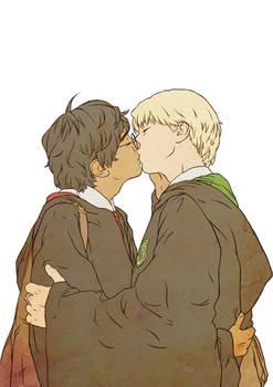 Drarry Kisses