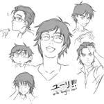 Yuuri!!! with long(er) hair