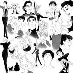 YOI (cleaned up) sketch dump
