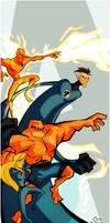 Fantastic Four by Tigerhawk01