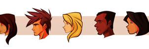 DAC Teen Profiles by Tigerhawk01