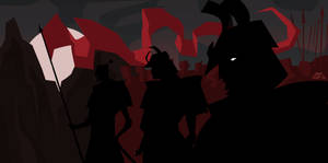 Samurais in Shadow by Tigerhawk01