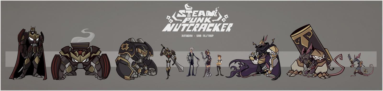 Steampunk Nutcracker Cast by Tigerhawk01