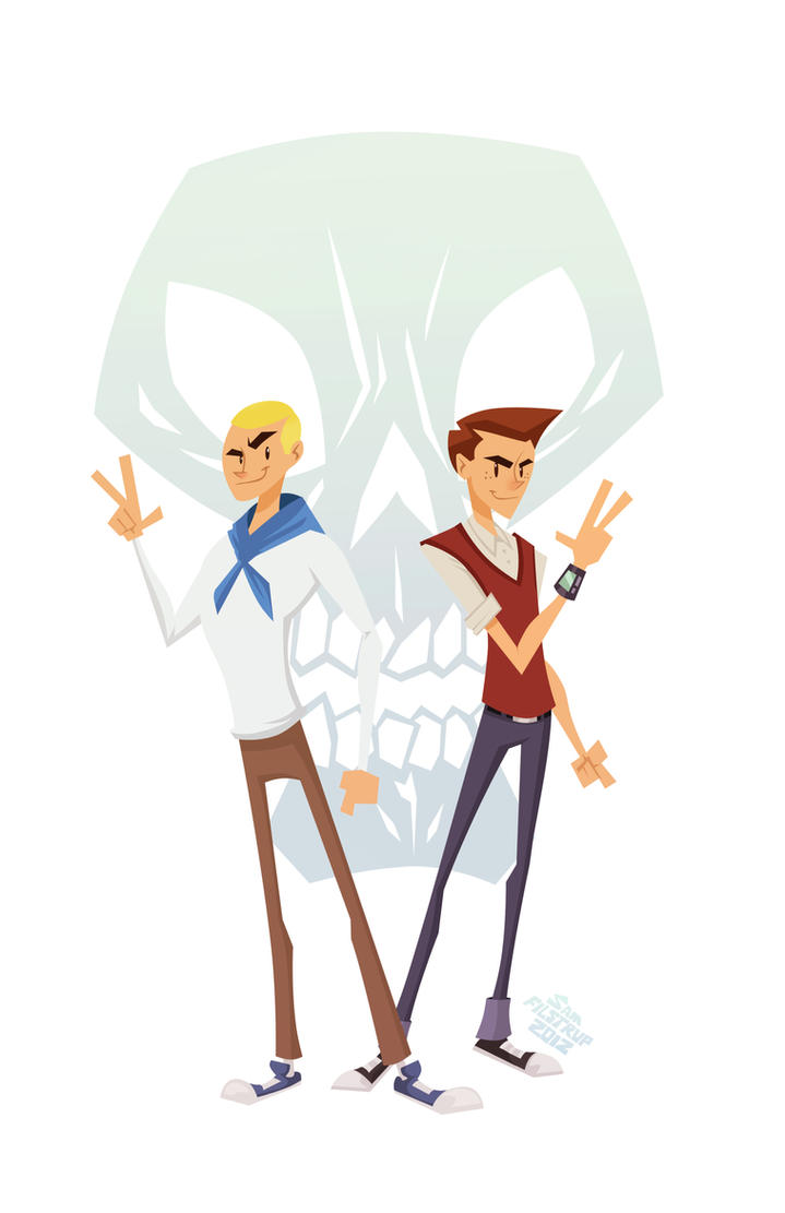 Venture Brothers by Tigerhawk01
