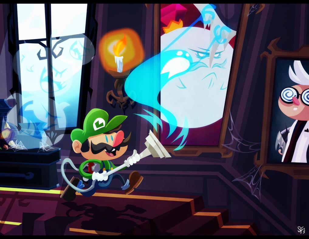 Luigi's Mansion by Tigerhawk01