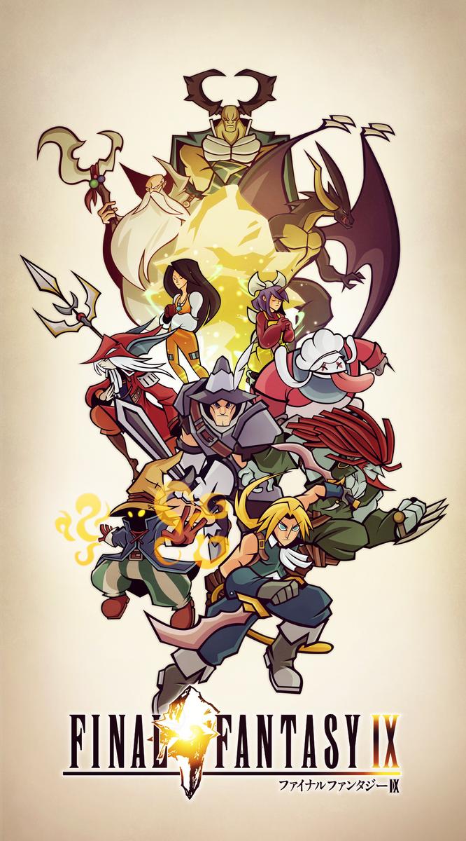 Final Fantasy IX by Tigerhawk01
