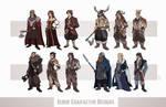 Eldeif Character Designs Part 2