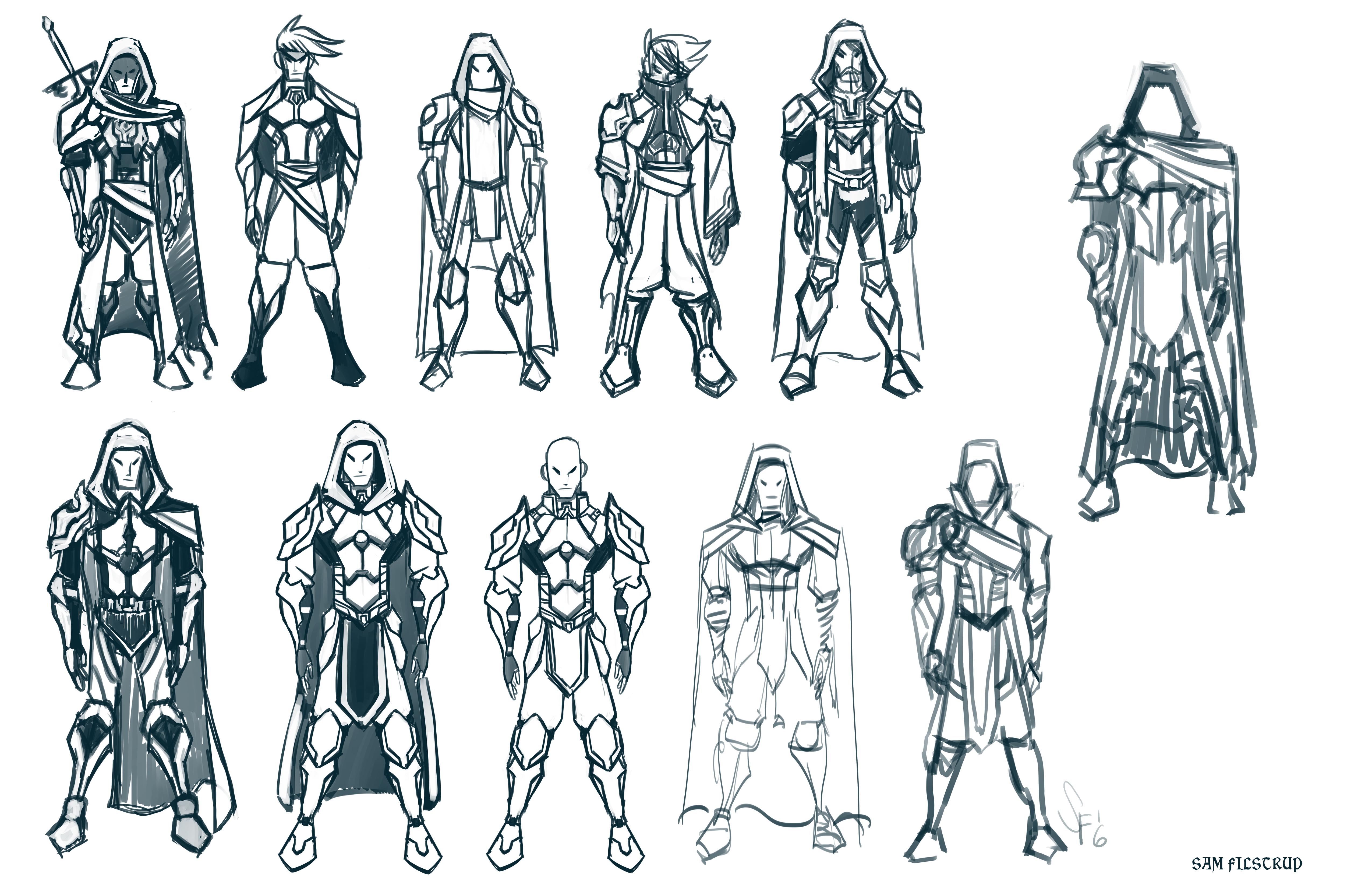 Unkown Warrior Concept Art