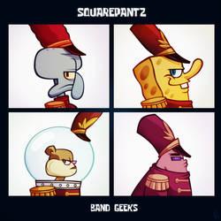 Squarepantz Band Geeks by Tigerhawk01