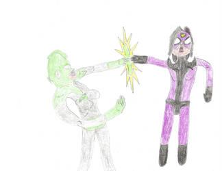 Carol Danvers vs Spider-Woman