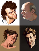 Portrait practice by javicandraw