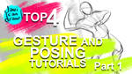 Top 4 Gesture Drawing and Posing Tutorials!