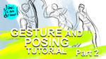 Gesture Drawing and Character Pose tutorial