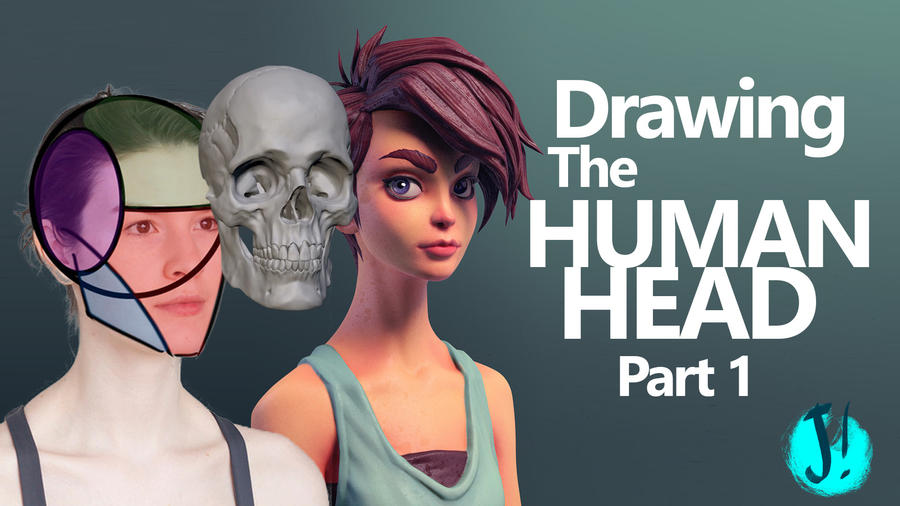 The Human Head for Beginners - Video Tutorial by javicandraw