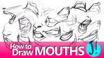 HOW TO DRAW MOUTHS - A Youtube Tutorial