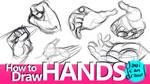 How to Draw Hands - A Youtube Tutorial