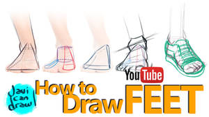 HOW TO DRAW FEET: A YouTube Tutorial