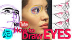 HOW TO DRAW EYES - A YouTube Tutorial