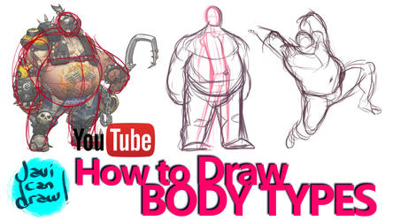 HOW TO DRAW BODY TYPES - A Process Tutorial