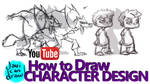 HOW TO DESIGN CHARACTERS - A Youtube Tutorial