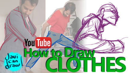 HOW TO DRAW MENS CLOTHES - A YouTube Tutorial by javicandraw