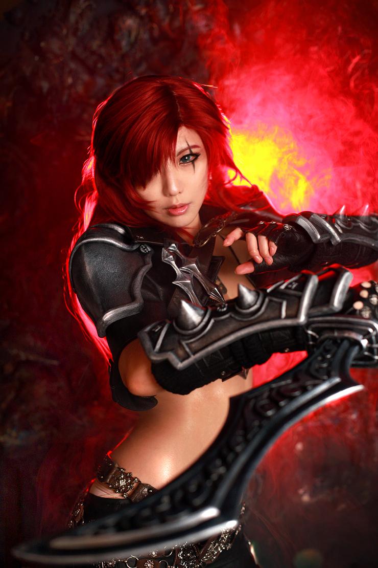 League of Legends - Katarina by TASHAspcats
