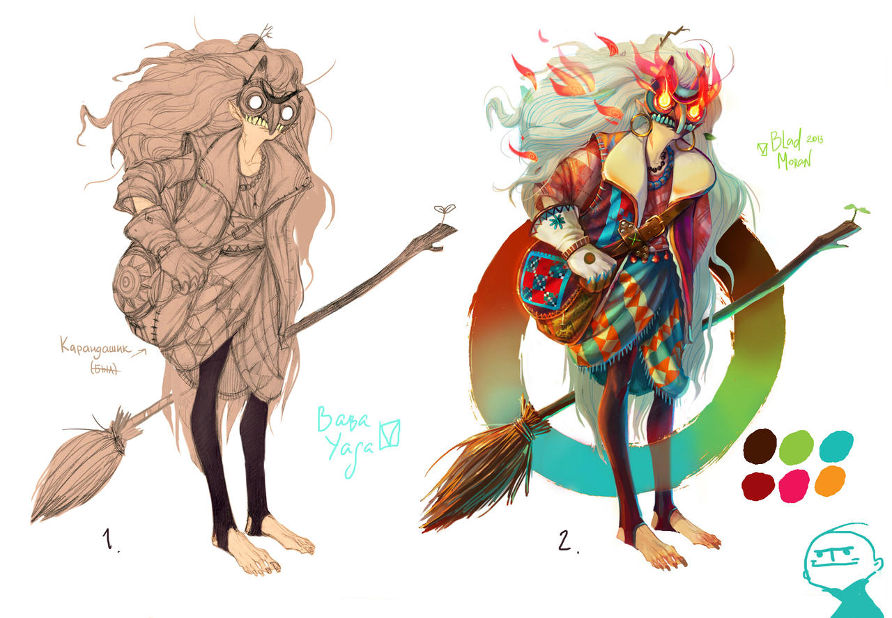 Little witch Yaga by BladMoran