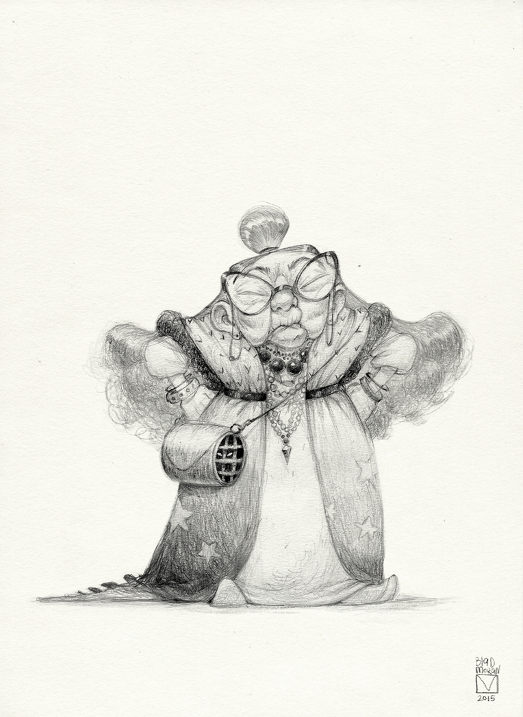 Sketchtober | 002 by BladMoran