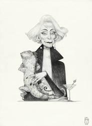 Sketchtober | 007 by BladMoran