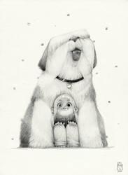Sketchtober | 014 by BladMoran