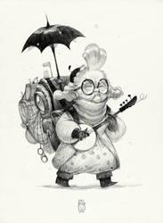 Sketchtober | 019 by BladMoran