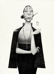 Sketchtober   022 by BladMoran