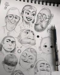 Sketches_01 by BladMoran