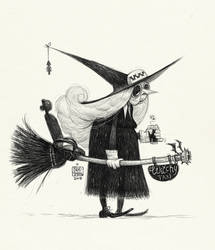 001 Taxi Witch