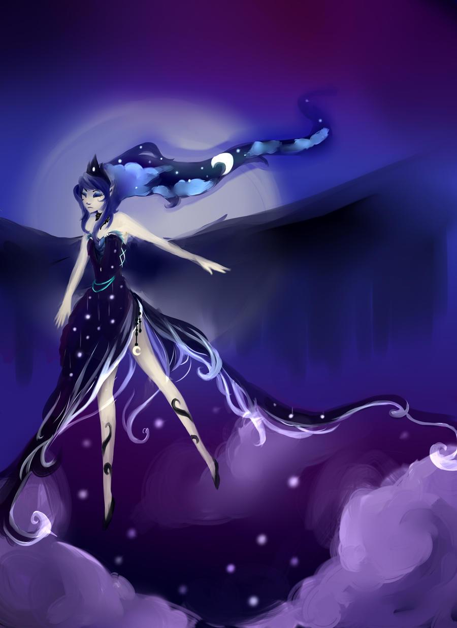 Princess Luna by gadzooks97