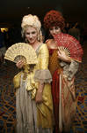 Scarlett and Giselle at DCon