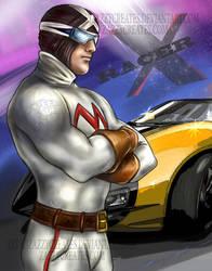 Racer X by ZazzyCreates