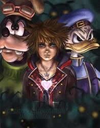 Kingdom Hearts 3 by ZazzyCreates