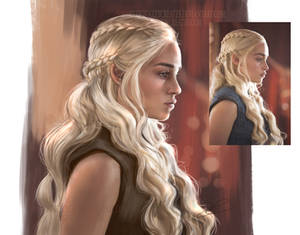 Color Study of Mother of Dragons