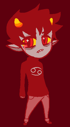 sadstuck karkat by cloudlawl on deviantart