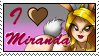 I Love Miranda Stamp by rudeboy308