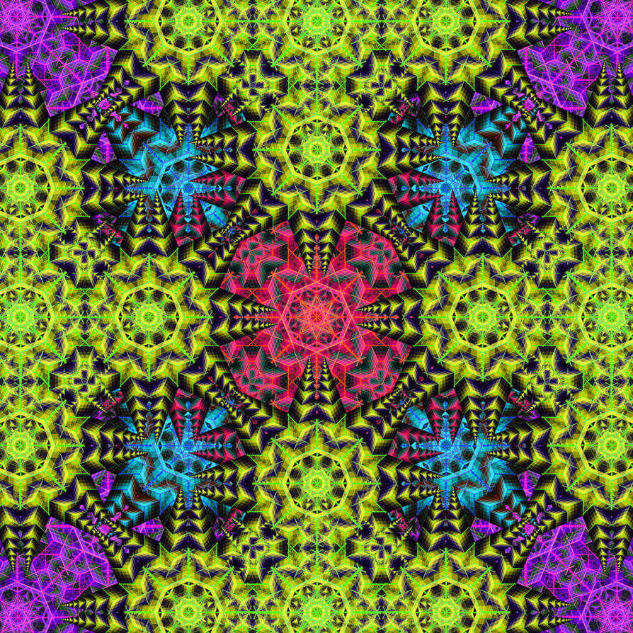 Dmt geometric patterns