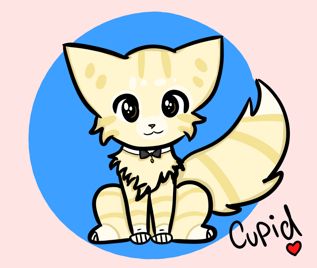 Cupid's new design by AnimaloverXD