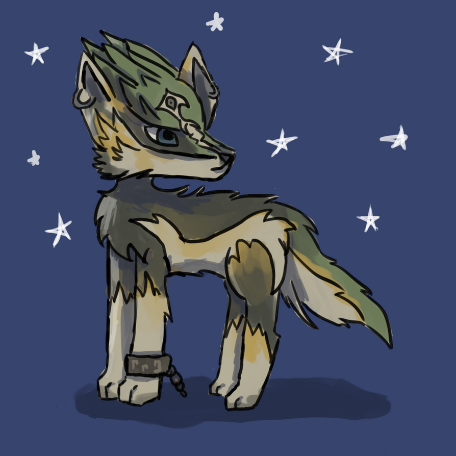 Wolf Link by AnimaloverXD