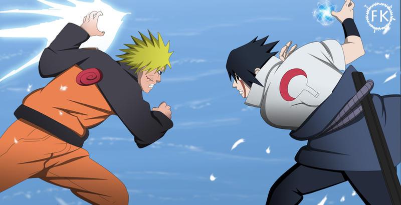 Naruto Chidori, Sasuke Rasengn by feddekun on DeviantArt