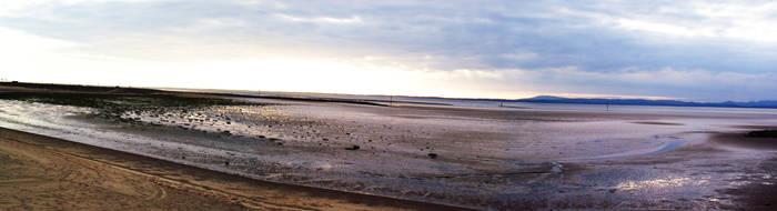 Morecambe Bay Panorama by Bloodline-Fable