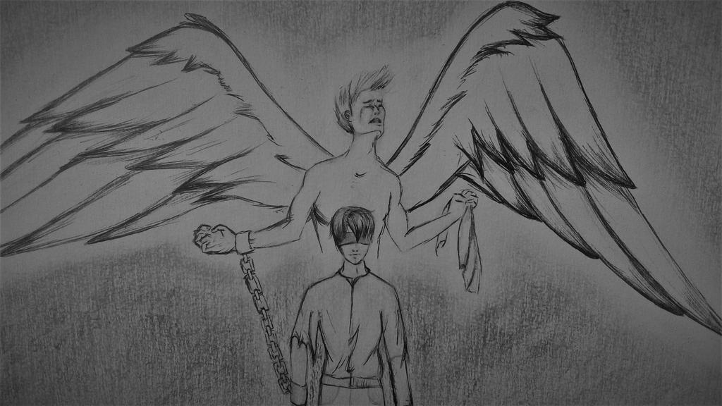 my angel by DamnedBorn