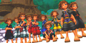 Kid Sora Outfit Pack