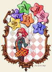 Haruka + Balloons by CicisArtandStuff